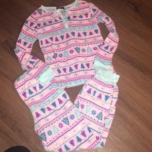 Girls cuddle duds pajama set